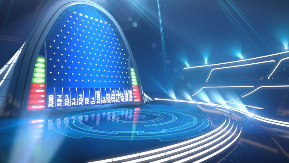 The Wall - NBC Game Show Visual Concept Development